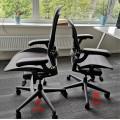 Biuro kėdė AERON, Graphite B dydis
