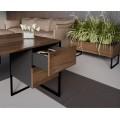 Biuro baldų kolekcija HEXA